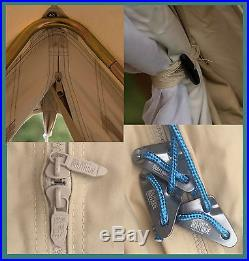 100% Cotton 7m Bell Tent with Zipped in Ground Sheet by Bell Tent Boutique