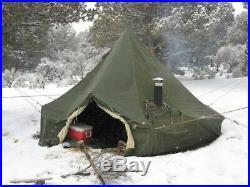 10 Man Arctic Military Tent, no liner