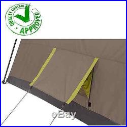 10 Person 3 Room XL Hybrid Instant Cabin Tent Family Camping Waterproof Hiking