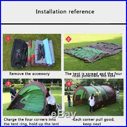 10 Person Big Camping Tent Outdoor Family Camping Hiking Instant Cabin Shelter