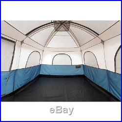 10 Person Camping Tent 2 Room EnLarged Waterproof Outdoor Family Shelter NEW