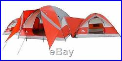10 Person Family Tent For Camping Big With Rooms For Kids Waterproof Large Dome