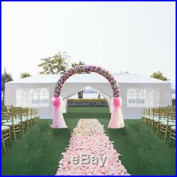 10'x30' Heavy Duty Outdoor Wedding Party Tent Patio Gazebo Canopy with8 Side Walls