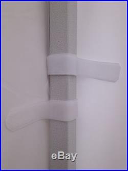 10x10Ft Enclosure Zipper Side Walls Kit Panels For EZ Pop Up Tent Gazebo Canopy
