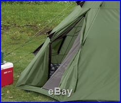 10x10' Teepee Survival Camping Hiking Fishing Outdoor Tent Waterproof Heavy Duty