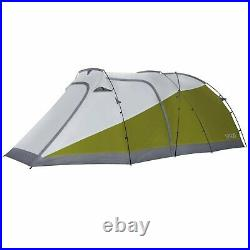 12 Foot Waterproof Motorcycle Tent With Integrated 3-Person Tent Space