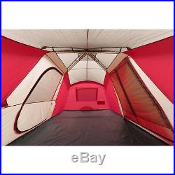 12 Person 3 Room Instant Cabin Large Family Tent Camping Waterproof Hiking Tent