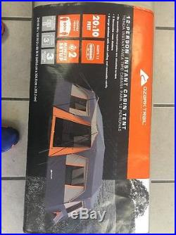 12 Person 3 Room Instant Cabin Tent NEW Outdoor Family Camping Sleeping Shelter