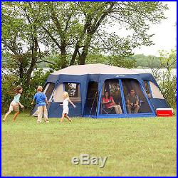 12 Person Instant Tent Camping Large 18 X 16 Screen Room