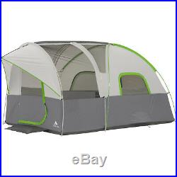 12 x 8 Modified Dome Tunnel Tent 8 Person Sleeps Camping Outdoor Cabin Shelter