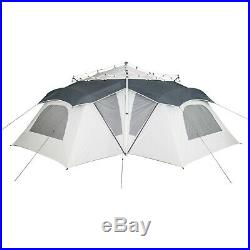 14 Person Ozark Trail Big 3 Room Camping Canopy Connect Tent Outdoor Camping