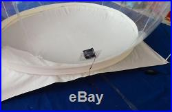 16'4 transparent Outdoor Clear Tunnel Inflatable Bubble Camping Tent w Blower