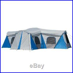 16 Person Family Cabin Tent Outdoor Camping Ozark Trail Hazel Creek 230 Sq. Ft