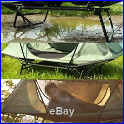 1 Person Folding Camping Tent Waterproof Multipurpose Cot Outdoor Sleeping Bed