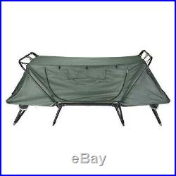 1-Person Folding Tent Cot Waterproof Oxford with Mesh Carry Bag Portable Sleep