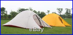 2 Person Tent Ultra Lightweight Hiking Camping 1.4kg Premium Ripstop Outdoor 1