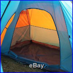 3-4 Men Portable Tent Camping Hiking Outdoor Beach Famliy Traveling Tent 6
