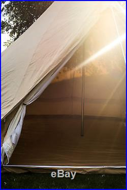3 Metre 100% Canvas ZIG Bell Tent By Bell Tent Boutique