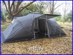 4 5 6 Man Zelt Campingzelt Familienzelt Tunnelzelt Loftra Camping Festival Neu
