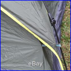 4 Person Double Layer Outdoor Hiking INSTANT POP UP Camping Tent waterproof