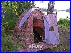 4 season Double-layer Waterproof Tent UP-2 Mini Bereg. Camping, hunting, fishing