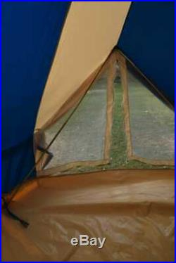 4m Canvas Bell Tent Turquoise ZIG 4 METER 100%Cotton MeshDoor 4vents waterproof