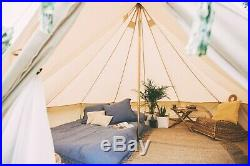 4m Superlite Polycotton Bell Tent With ZIG By Bell Tent Boutique