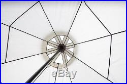 4m Tent Pyramid round Bell Tent Grey With Zipped In Ground Sheet water proof