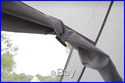 4m Tent Pyramid round Bell Tent Grey Zipped In Ground Sheet watre proof Ex-Demo