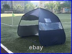 50+UPF Portable Sports Team Shelter Pop Up Football Dugout
