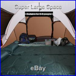 5-8 Person Ultralight Large Automatic Tent Windproof Waterproof Pop up Camping
