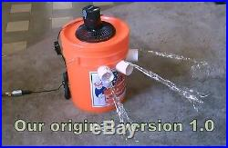 5 Gallon Bucket Air Conditioner. WithHoneywell TURBO fan. SwampCooler v1.3