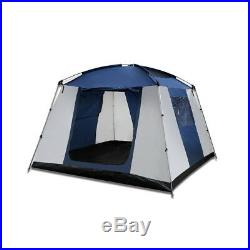 6 Person Family Camping Hiking Dome Tent Bestway Navy and Grey
