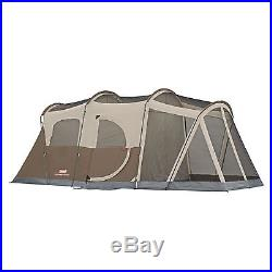 6-Person Floor-less Screened Room Tent Family Camping Hiking Coleman Footprint