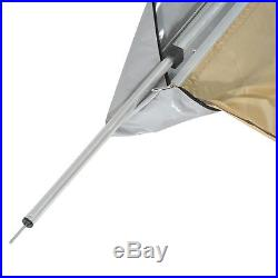 8.2'x8.2' Vehicle Rooftop Awning Tent SUV Shelter Car Side Tent Travel Camping