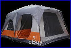 8 Person 2 Room Cabin Tent (15' X 10' X 86)