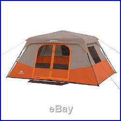 8 Person Instant Cabin Tent 2 Queen Airbeds Camping Hiking Outdoor Sport