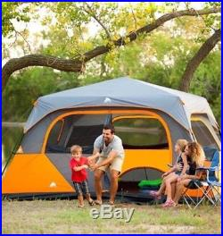8 Person Instant Cabin Tent Family Camping Waterproof Outdoor Hiking Hunting New
