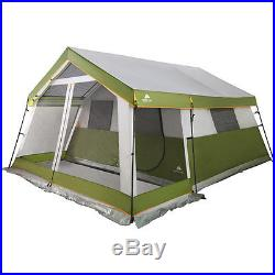 8-Person Tent Outdoor C&ing Ozark Trail Family Cabin Tent Screen Porch Green  sc 1 st  C&ing Tents & 8-Person Tent Outdoor Camping Ozark Trail Family Cabin Tent Screen ...