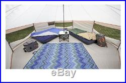 8 Person Yurt Tent Large Ozark Trail Family Hiking Camping