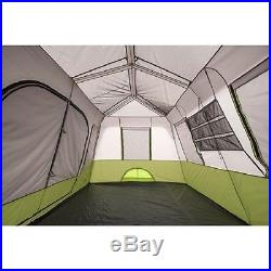 9 Person Instant Cabin Tent Screen Room Rainfly Waterproof Camping Family 2 Room