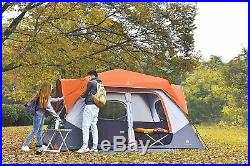 ALPHA CAMP 8 Person Dome Tent for Camping Easy Setup Tent with Foot Mat