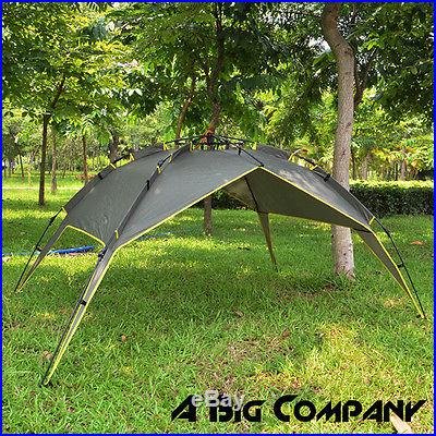 AUTOMATIC CAMPING FAMILY INSTANT TENT WATERPROOF DOUBLE LAYER OUTDOOR 4 PERSONS