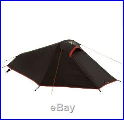 Backpacking Phox One Man Lightweight Tent Black. Ideal For Expeditions