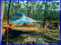 Backpacking double hammock triangle hanging tree tent two person hammock tent