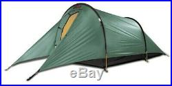 Backpacking tent used, Hilleberg Anjan 2, green, 2 person, lightly used