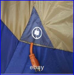 Base Camp Tent Family Cabin Ozark Trail 14 Person 4 Room Camping Hiking Group