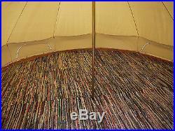 Bell Tent Mat Half Moon Rugs 3m, 4m, 5m, 6m By Bell Tent Boutique (not Coir)