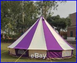 Bell tent 4 Meter 4M, 5 Meter 5M Glamptex 400-Ultimate ZIG Zipped-in-Groundsheet