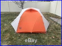 Big Agnes Copper Spur HV UL2 Tent with Footprint, Excellent Condition